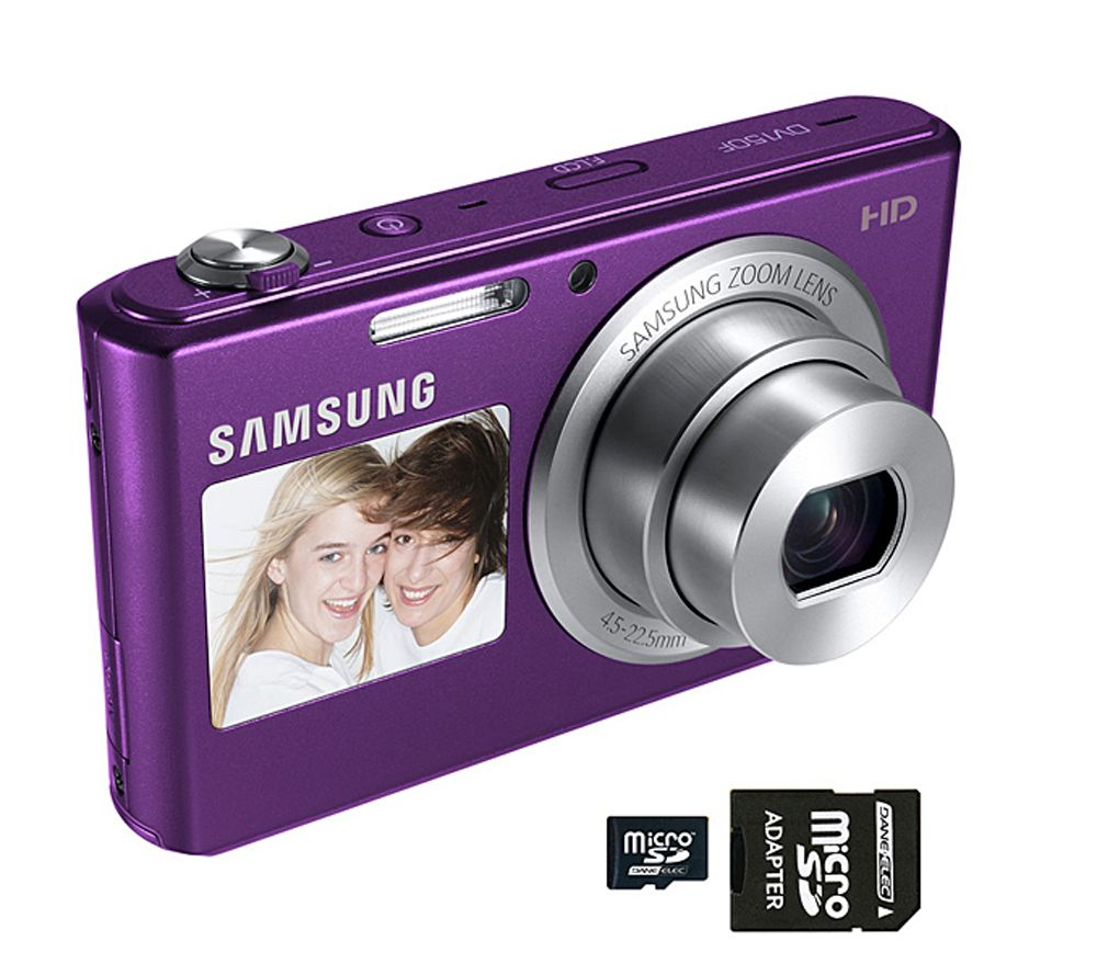 samsung dv150f 16 2mp smart camera w front rear screens car qvc com rh qvc com Pentax Camera Manual Pentax Camera Manual